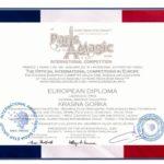 Magic Stars of Paris 2016 - Красна Горка Лауреат 1 ст_result