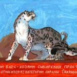 ckst_Супрун Анна, 7 лет Снежный барс (ирбис) РФ, Курская область, г. Железногорск