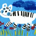 ckst_Усевич Алина, 6 лет. Чудо природы – снежный барс Республика Казахстан, г. Экибастуз