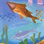 Бадретдинова Луиза, 11 лет В морской пучине. Редкие рыбы РФ, Мурманская область, г. Снежногорск