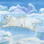 Килочицкая Эльвира, 12 лет Белые медведи РФ, Мурманская область, г. Оленегорск