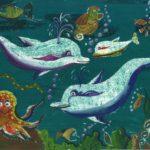Кралькова Полина, 10 лет Подводный мир РФ, Нижегородская область, Шарангский район, рп Шаранга