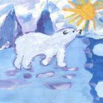 Криволапова Евгения, 9 лет Белый медведь РФ, Тюменская область, г. Ишим