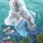 Лазарева Алена, 11 лет Белый медведь РФ, Ивановская область, г. Вичуга
