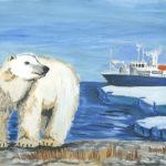 Лебедева Ульяна, 10 лет Наш сосед - белый медведь РФ, Чукотский автономный округ, Чаунский район, г. Певек