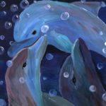 Мирошниченко Алина, 14 лет. Берегите дельфинов - они прекрасны. РФ, г. Мурманск МОУ ДОД ДТШХПО