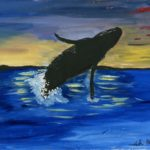 Муди Тата, 15 лет Кит-горбач США, штат Аляска, г. Анкоридж,