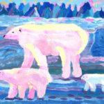 Огий Александра, 10 лет Белые медведи Республика Казахстан, Павлодарская область, г. Павлодар