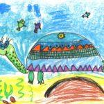 Пасынкова Ника, 4 года Средиземноморская черепаха РФ, Новосибирская область, г. Бердск