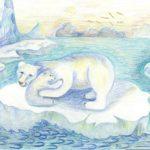 Шахова Анастасия, 10 лет Белые медведи Республика Казахстан, Восточно-Казахстанская область, г. Риддер