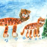 Афанасьев Михаил, 7 лет Тигры РФ, Приморский край, г. Владивосток