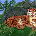 Анохина Александра, 13 лет Амурский тигр РФ, Владимирская область, г. Муром