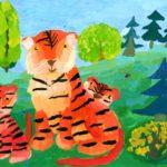 Бикманова Анжелика, 9 лет Семейство амурских тигров РФ, Удмуртская Республика, г. Ижевск