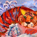Брызгалова Алена, 9 лет Амурский тигр РФ, Сахалинская область, г. Углегорск