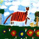 Есина Елизавета, 6 лет Тигр на охоте РФ, Хабаровский край, г. Комсомольск-на-Амуре