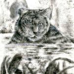 Гостева Анастасия, 12 лет Тигр РФ, Кабардино-Балкарская Республика, г. Прохладный