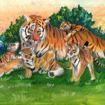 Гумарова Ландыш, 14 лет Амурский тигр РФ, Республика Татарстан, г. Елабуга