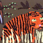 Исенова Айша, 10 лет Одинокий тигр Республика Казахстан, г. Павлодар