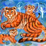 Криваль Наталья, 10 лет Амурский тигр РФ, Приморский край, г. Лесозаводск