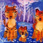 Лебединская Мария, 8 лет Семья амурских тигров РФ, Удмуртская Республика, г. Ижевск