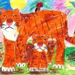 Лещенко Александра, 9 лет Тигры РФ, Новосибирская область, г. Бердск