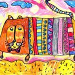Мотылева Алиса, 6 лет Амурский тигр РФ, Новосибирская область, г. Бердск