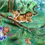 Останина Арина, 14 лет Игривый тигренок РФ, Амурская область, г. Шимановск