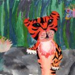 Приходько Диана, 11 лет Амурский тигр РФ, Краснодарский край, Каневской район, ст-ца Каневская