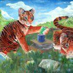 Утяева Арина, 13 лет Амурские тигрята РФ, Республика Башкортостан, г. Салават