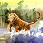 Юз Арсений, 10 лет Амурский тигр РФ, г. Москва
