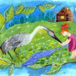Шарамко Екатерина, 10 лет Раненая птица РФ,Ханты-Мансийский автономный округ – Югра, г. Ханты-Мансийск